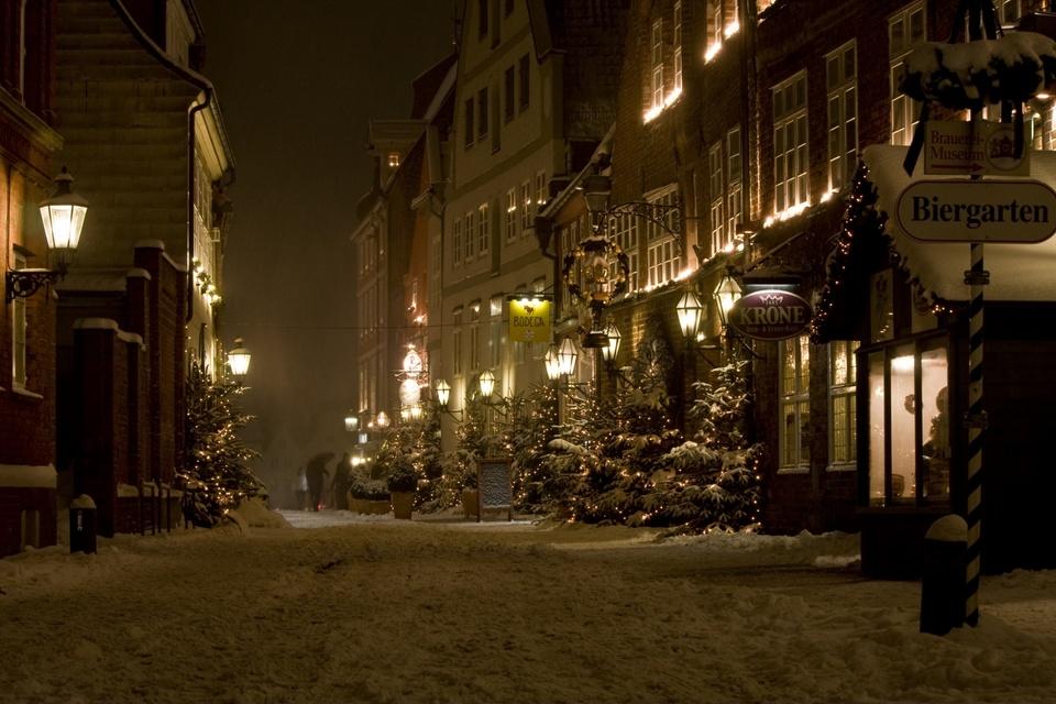 Lüneburg im Schnee