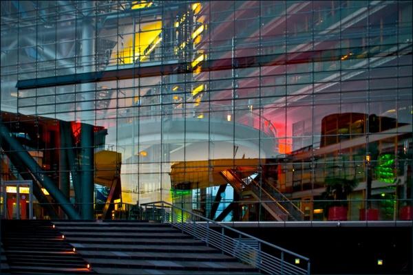 Glasfassade Stadttor Düsseldorf