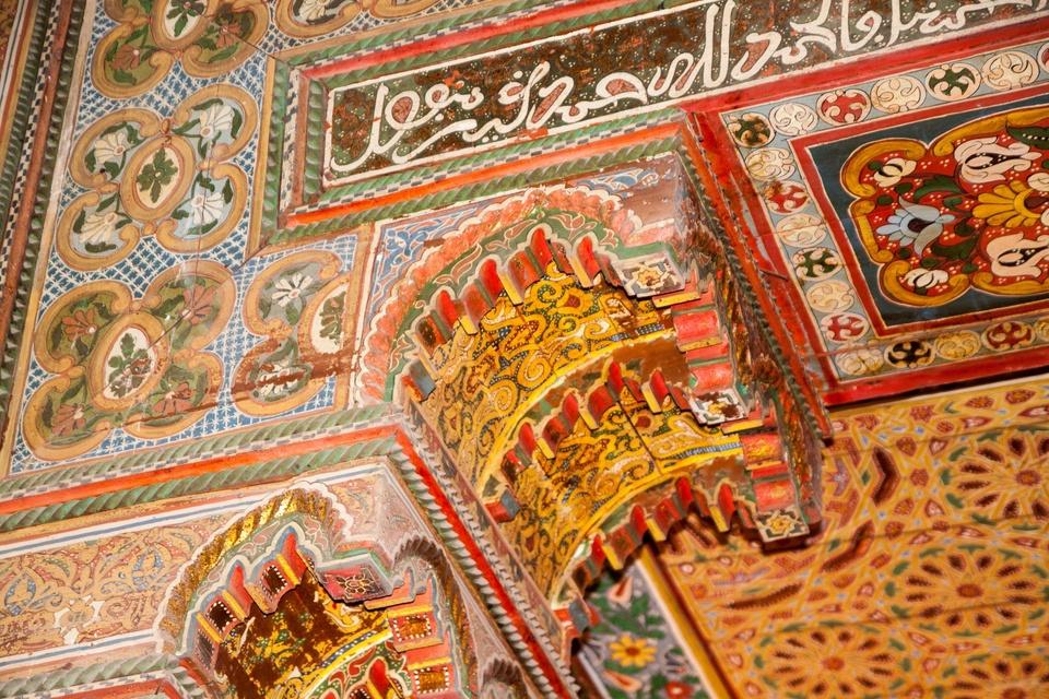 arabische Lüftlmalerei
