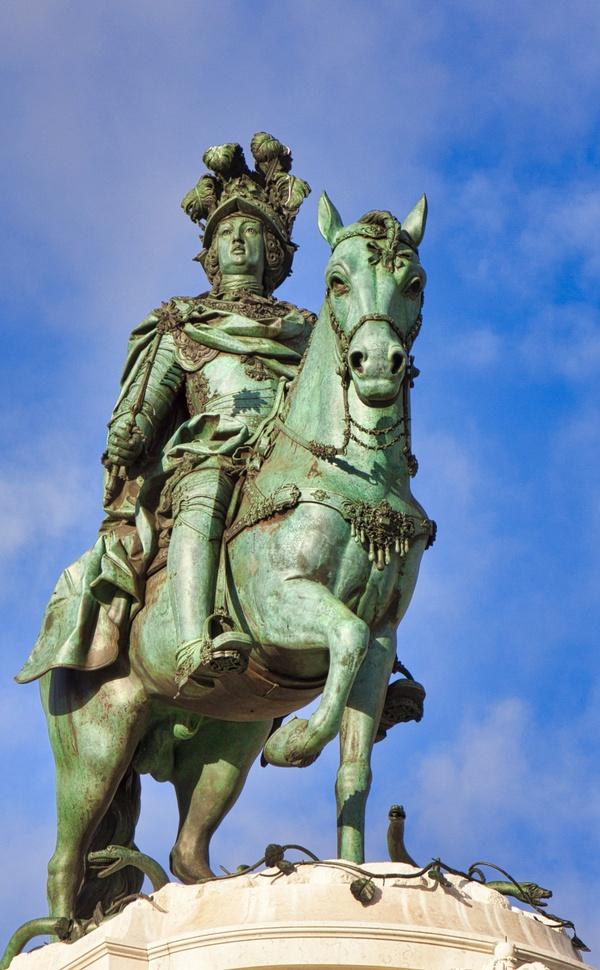 Reiterstandbild von König José I.