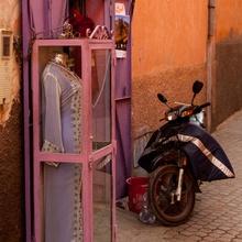 Marrokkanische Auslage