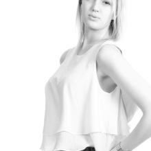 ...blond & white...