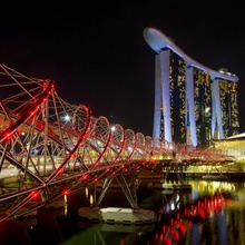 ...Marina Bay Sands...
