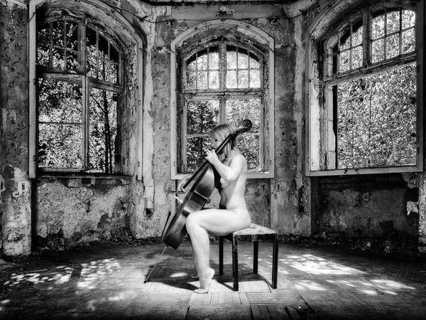 Sie spielte Cello ...