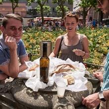 Marktfrühstück in Mainz