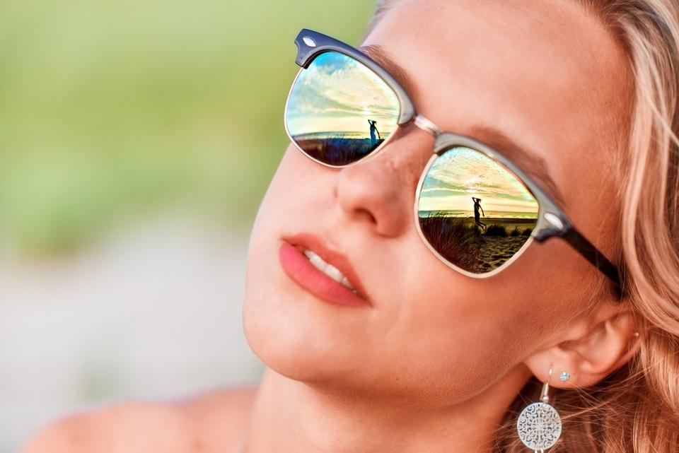 Strandspiegelungen