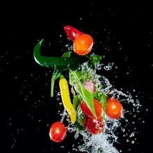 Flying Vegetables