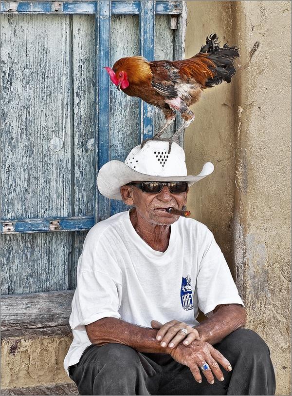 Porträt eines Kubaners