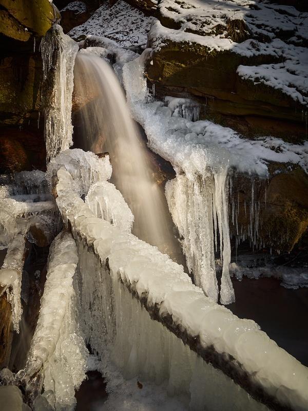Wasserfall on Ice