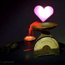 How much does Love weight?