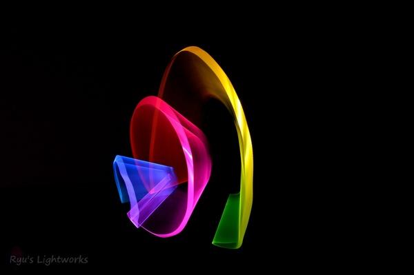 Skulpturen aus Licht