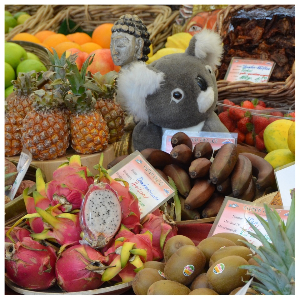 Obst aus aller Welt
