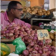 Zwiebeln für 18 Rupies