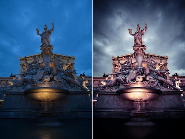 Wien - Pallas-Athene-Brunnen