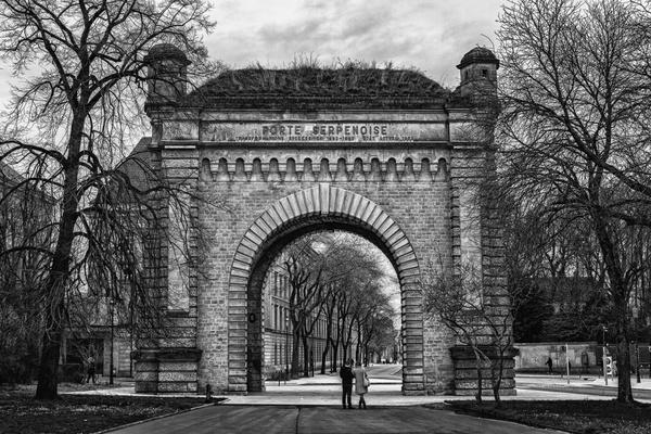 Porte Serpenoise - Metz(F)