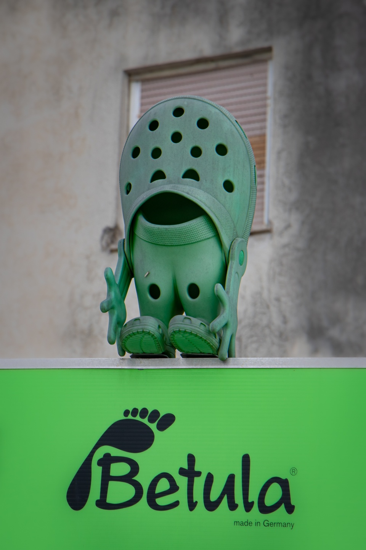 Smiling Crocs