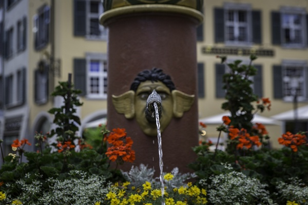 St. Ursen Brunnen / Solothurn (CH)