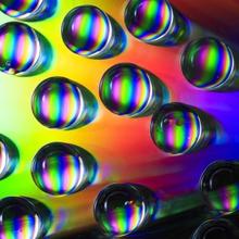 Regenbogentropfen