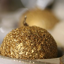 Goldene Kerze