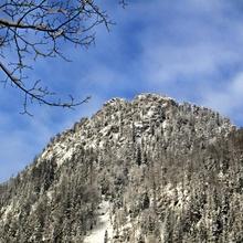 Bergschnee