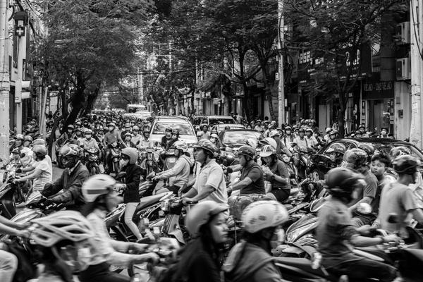 Verkehrs-Chaos
