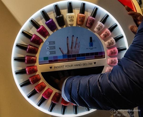 Nagellackautomat