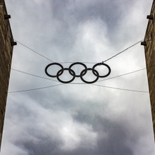 Eingang zum Berliner Olympiastadion