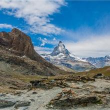 Der einsame Bergwanderer