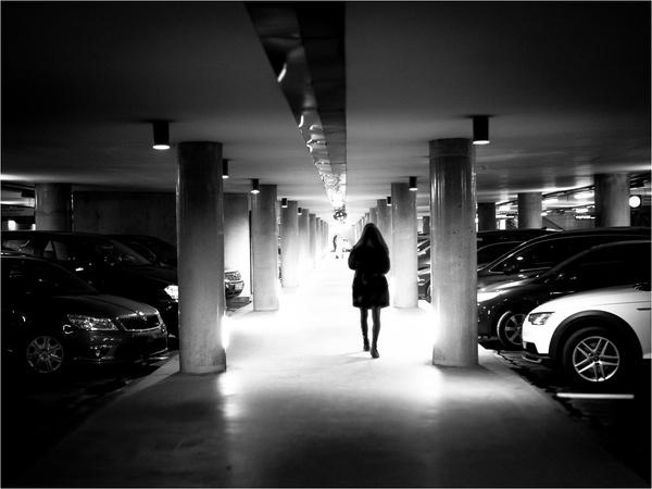 Walking underground