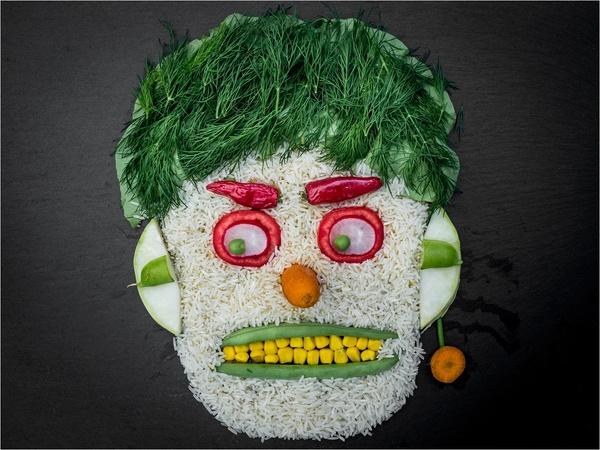 Gemüsemensch...