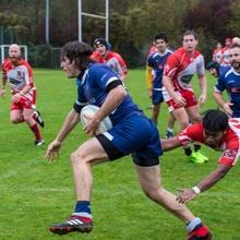 Rugby bei Regen