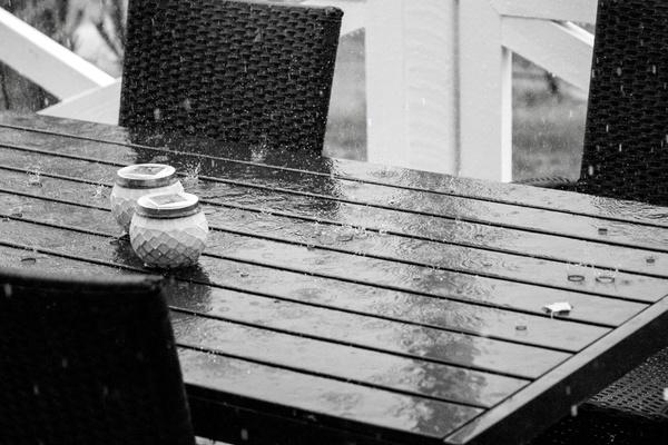 Regentag im Sommerurlaub