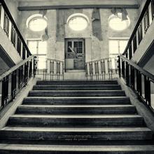 Treppenaufgang in der verbotenen Stadt