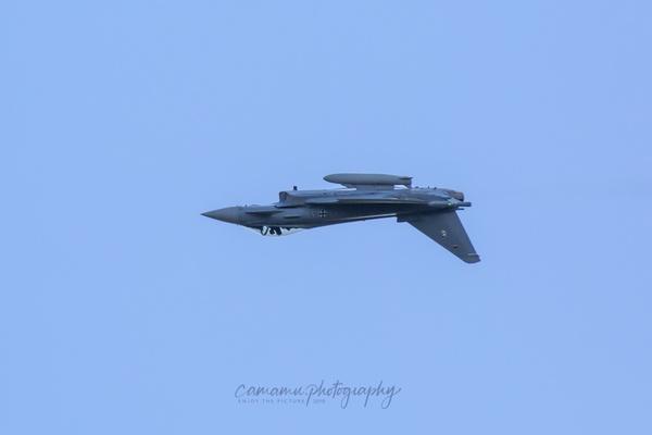 Flug über Kopf - Eurofighter