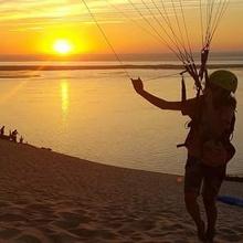 sunset glider