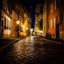 Low lightstreet