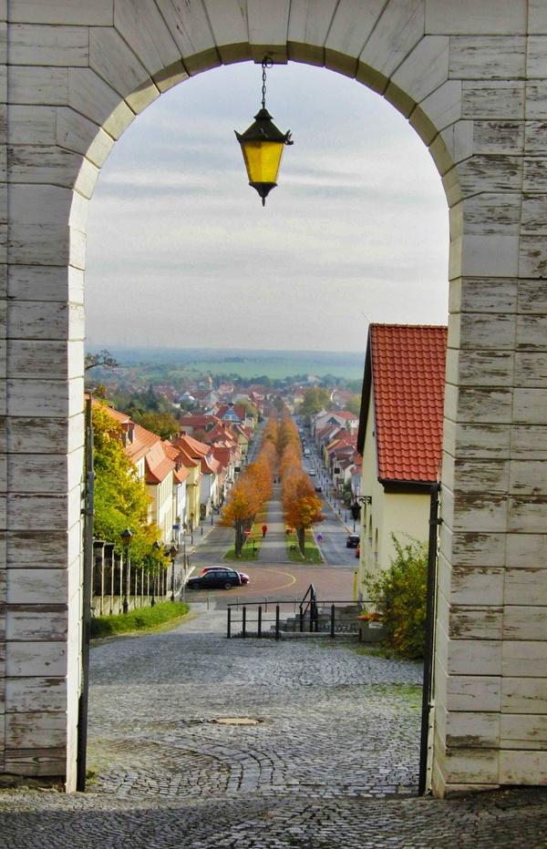 Blick ins Harzvorland