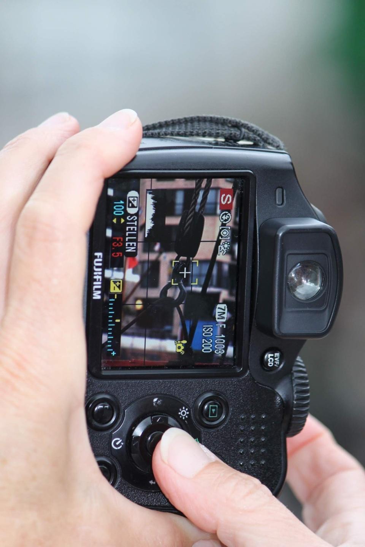 Fotograf unterwegs
