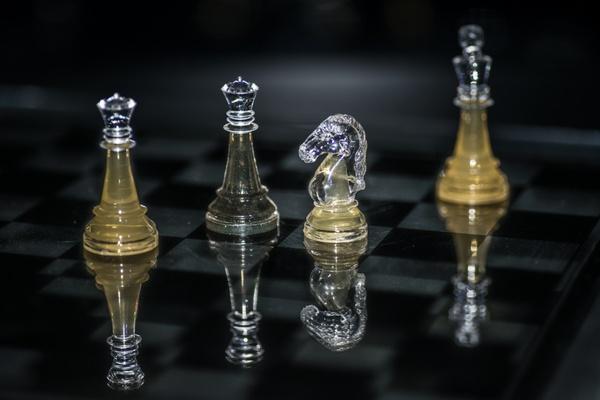 Schach (matt ?)