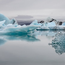 Gletscherlagune Jökulsarlon in Island