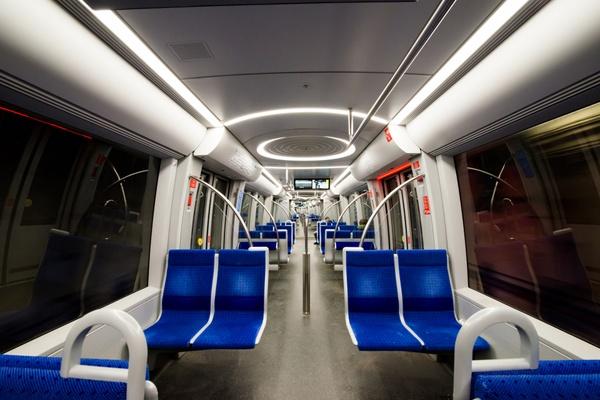 Nachts in der U-Bahn