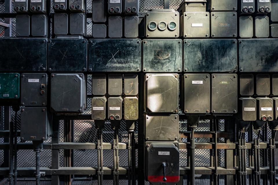 Deatail aus der Zeche Zollverein in Essen