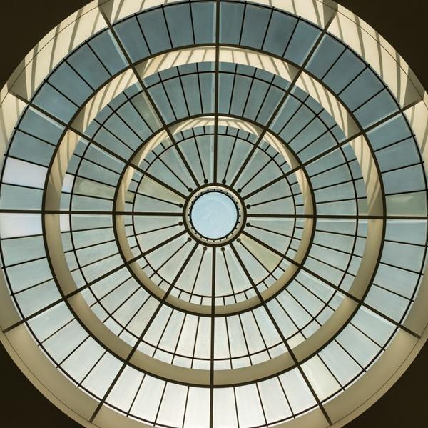 Glaskuppel der Pinakothek der Moderne in München