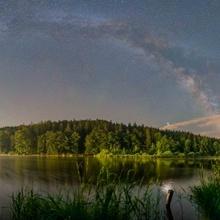 Milchstraßenbogen zum Sommerbeginn