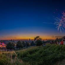 Feuerwerk beim Sommernachtstraum 2018