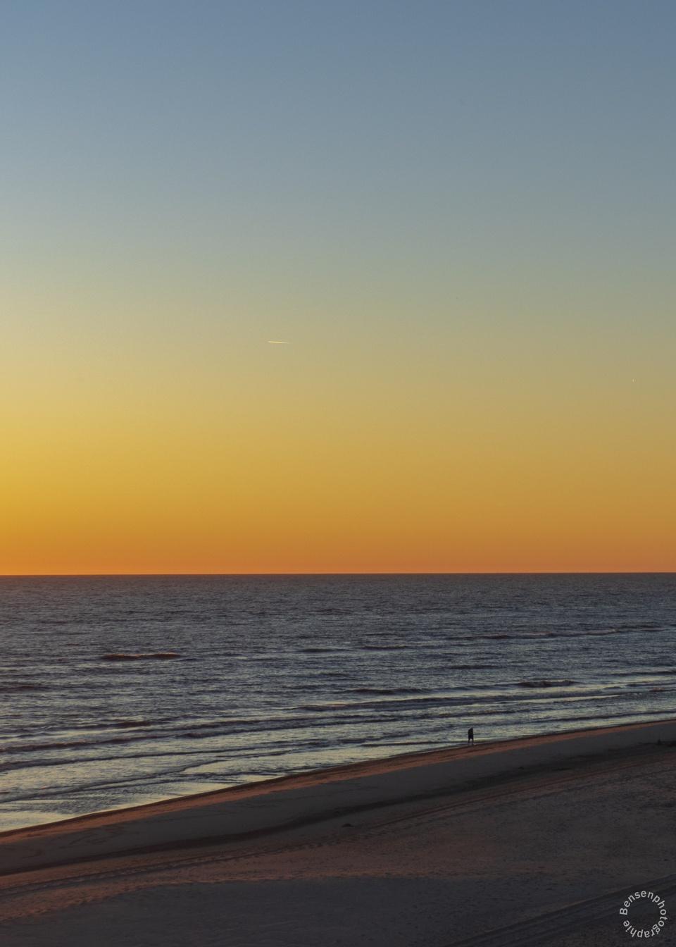 Sonnenaufgang an der Nordsee