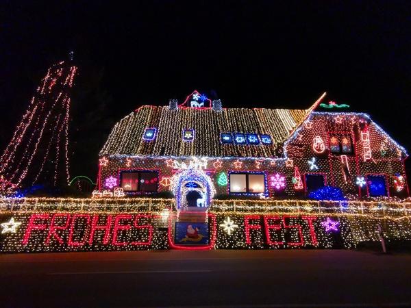 Weihnachtshaus Calle