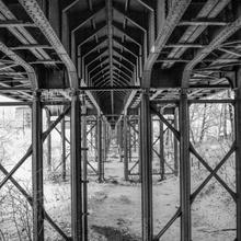 Viadukt von unten