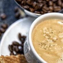 Leckere Kaffeetasse