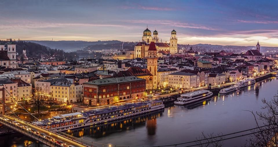 Panorama von Passau